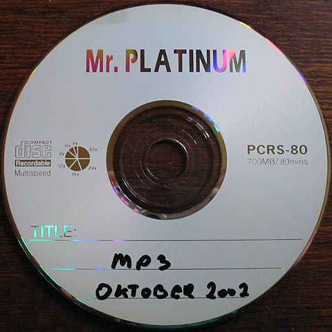 [ Mr. Platinum disk ]